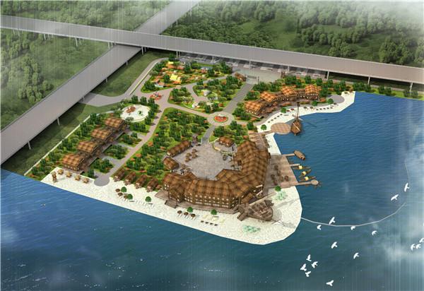 滨水渔村餐厅1