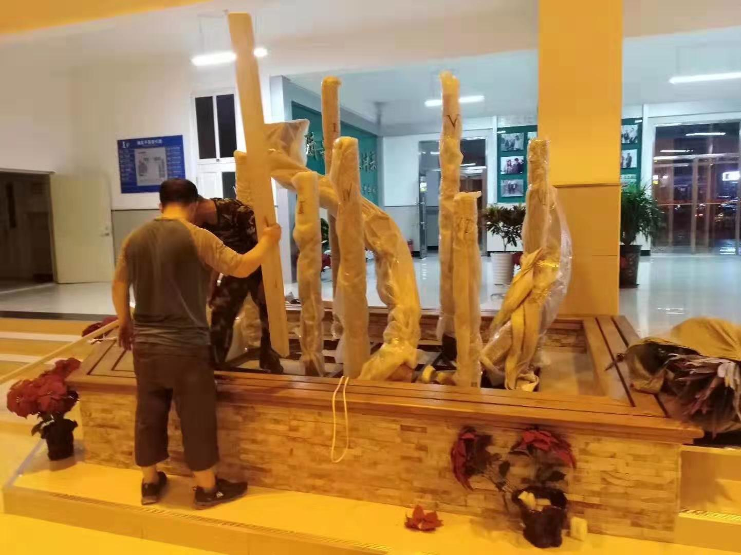 哈尔滨市第七中学主题雕塑3